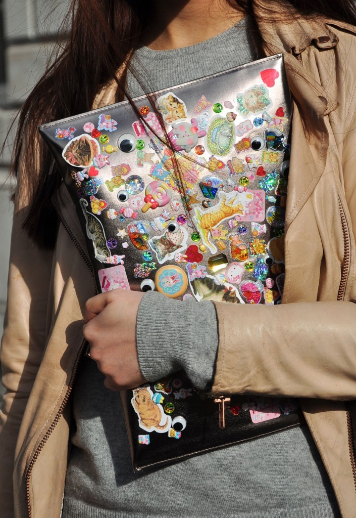 Sticker Clutch!