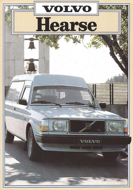 1981 Volvo Hearse brochure by Hugo90 on Flickr.1981 Volvo Hearse