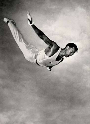 Lev Borodulin Olympic Champion Yevgeni Korolkov 1952 (taken) 1973 (printed before)