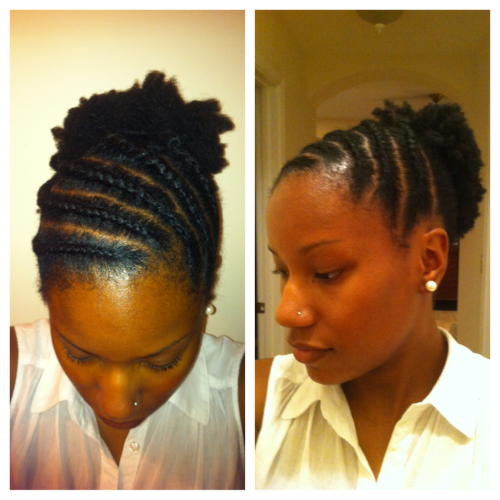 tarapook:  Natural Hair Stuff…| Wow! I learned how to flat twist really well since my other post here! Ok lies, someone else did this for me… But if your flat twisting skills are on point, here's a great style that you can wear for a few days so that you can just get up and go in the morning, as opposed to unbraiding or untwisting. I'll master you flat twisting, one of these days. **shakes fists at the sky**
