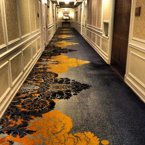 carpet (Taken with Instagram at The Drake Hotel)