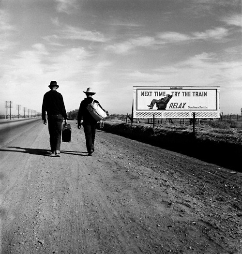 bbook:  Towards Los Angeles, Dorothea Lange 1937