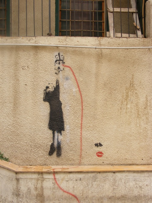 streetsyblr:  Beirut (Gemmayze) - Lebanon. The most graffitied subject in Lebanon is probably the constant power-cuts, caused by a corrupt monopolist company controlling all electricity in Lebanon.  Venezolanos agarren ideas