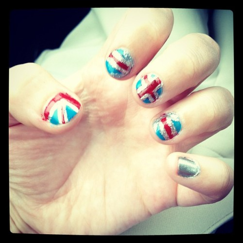 Team GB nails  (Taken with Instagram)