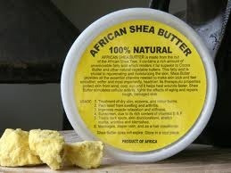 "luvyourmane:  My ""buttery crack"", 100% Natural Shea Butter. Great for hair and body"