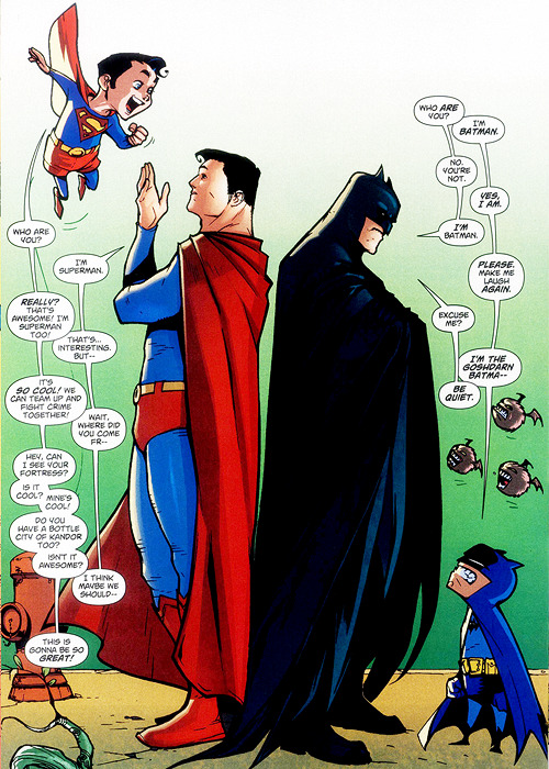 "Superman/Batman #51 (October 2008)  ""I'm the goshdarn Batma—"""