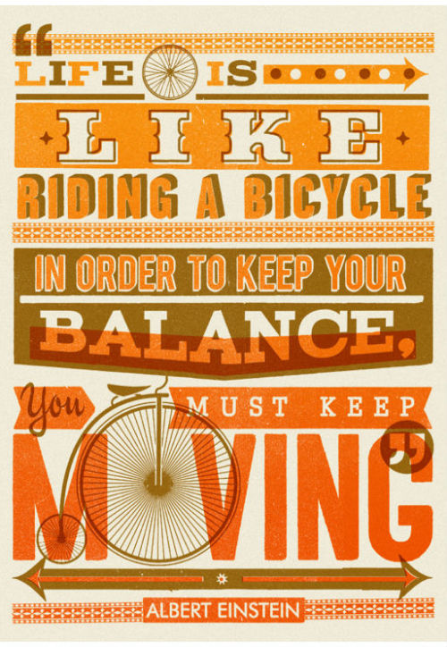 bicyclebasecamp:  Life is like…..