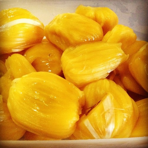 Jackfruit. 👻 (Taken with Instagram at Alpha Homes Subdivision)