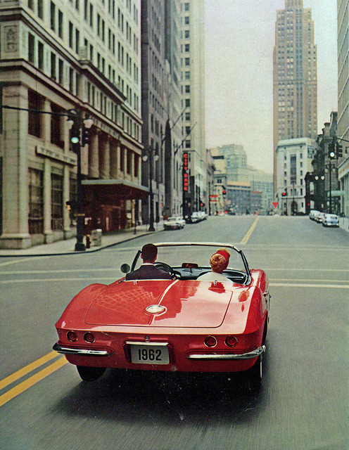 nzafro:  1962 Chevrolet Corvette Convertible.