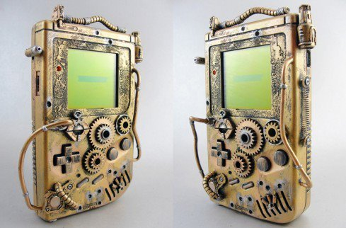 steam punk gameboy?? I think yes