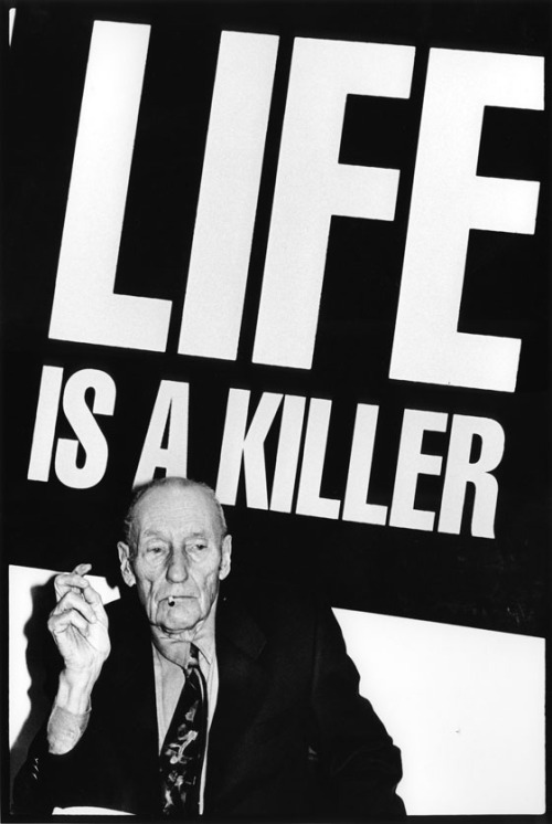 visual-poetry:  william s. burroughs [photo by kate simon]