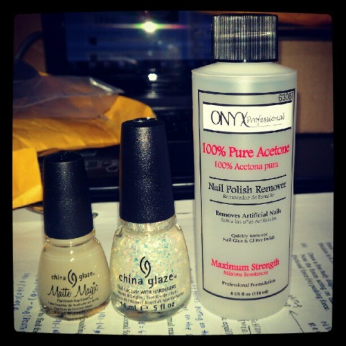 Yay yay yay !! They finally arrived safely, Thanks God! #China #Glaze #nail #polish #Acetone #australia #parcel  (Taken with Instagram)