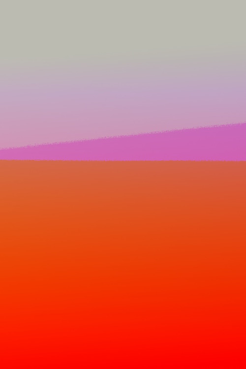 phoneasmedium:  gradient glitch