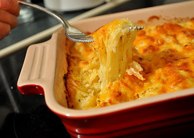 Good. All. The time. (via Dandy Dishes: Spaghetti Squash Au Gratin)