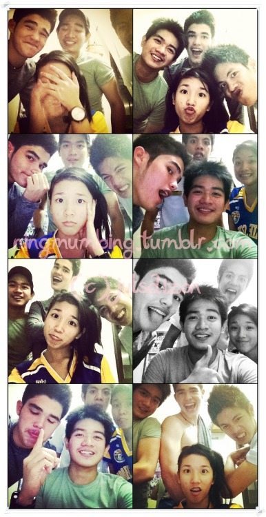 ningmumbing:  @RyanGwapoBoyce with friends. (c) @julsdizon