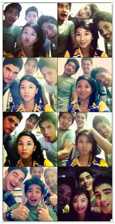 ningmumbing:  @RyanGwapoBoyce with friends, part 2. (c) @julsdizon