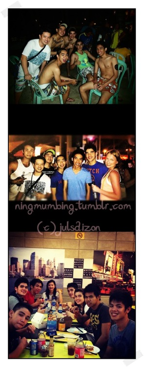ningmumbing:  @RyanGwapoBoyce with friends, part 4. (c) @julsdizon
