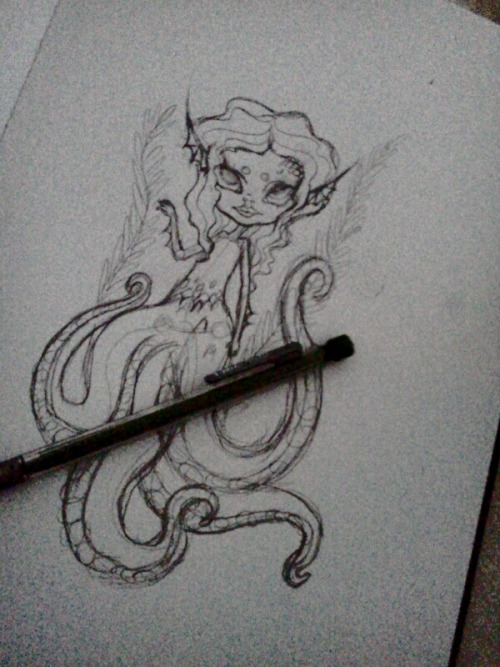 Someone mentioned tentacles.   So…..  Tentacles.  WIP of course.
