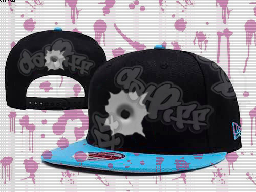 Hole in snapback with datPiff logo, inspired by Gucci Mane lyric, 2012 Fashionable Accessory GUCCI MANE - TRAP BACK Ω™