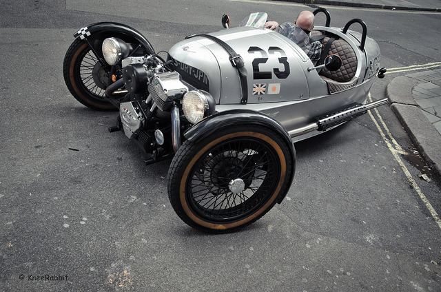 kneerabbit-klauskniehase:  Morgan 3 Wheeler on Flickr.