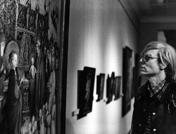 artnet:  Warhol in Germany For those of you planing a visit to documenta (13):  Stop by Kassel's Galerie Krätz and check out their new show featuring photographs of Andy Warhol in Germany.  Leo Weisse: Andy Warhol in Deutschland (1971) - Fotografien runs through September 15, 2012.