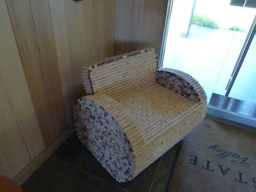 CORK CHAIR—LYNMAR ESTATES  RUSSIAN RIVER VALLEY—CALIFORNIA