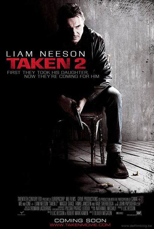 totalfilm:   Taken 2 trailer rampages online: watch now Taken 2 has released a new trailer online, and it's rammed with as much action and just as many gruff one-liners as you'd expect…