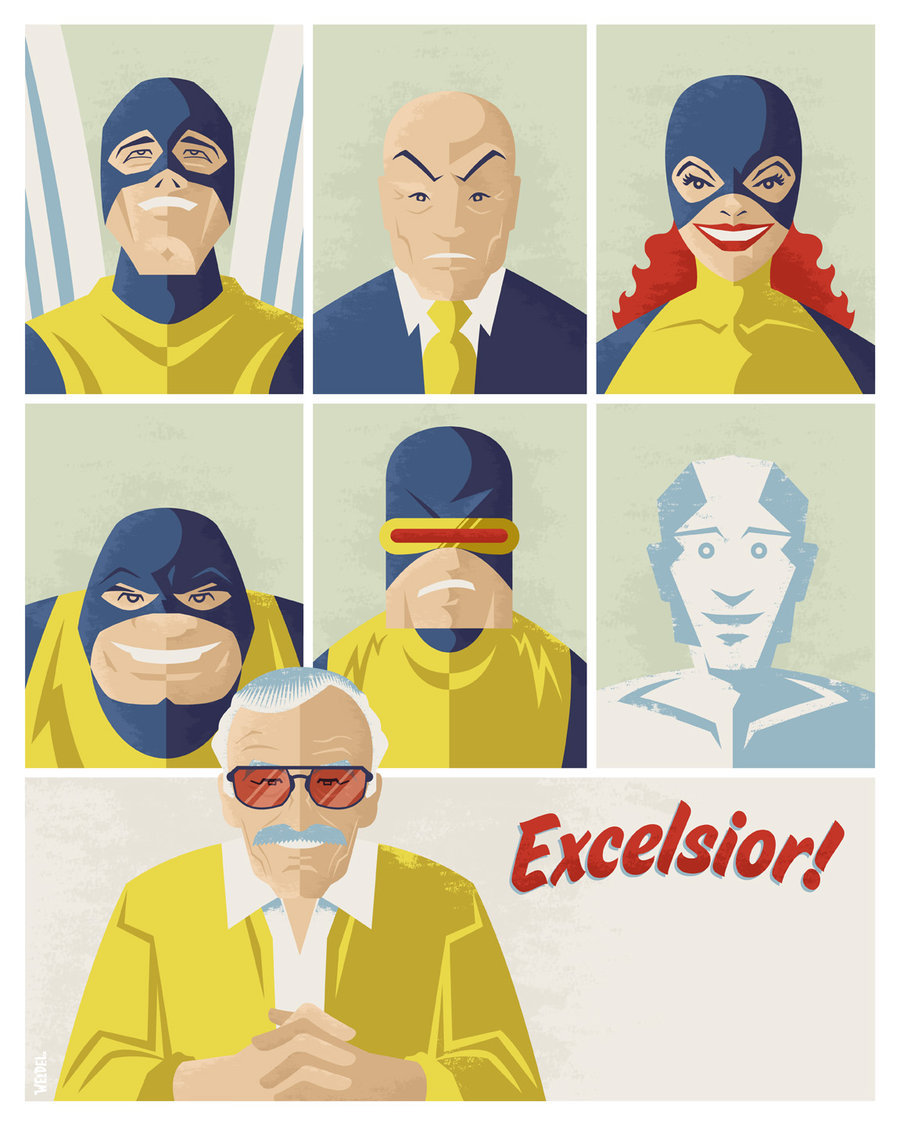 Stan Lee by Jayson Weidel / Website