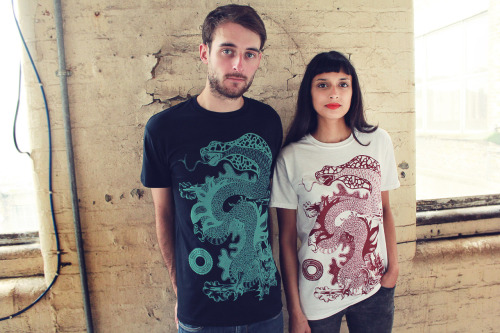 "Brand new t-shirt ""Mythos"" is now on sale via Outcry's online store. These are limited edition so make sure to grab one asap!  Screen printed on to 100% ringspun cotton t-shirts. Unisex."
