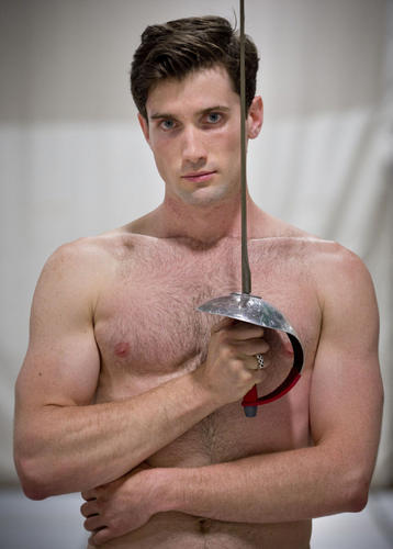 shirtless-wonders:  Philippe Beaudry - Olympic Fencer - Team Canada