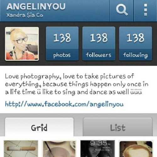 138 followers, thank you for your support ü #happy  (Taken with Instagram)