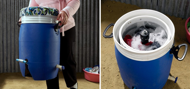 Pedal-powered washing machine costs less than $40 to make There have been a number of laundry-based innovations featured on Springwise in the past few years, including ones with a charitable slant such as the Tide Loads of Hope campaign and the Method donate and wash truck. Hoping to make a real change in poorer areas is the GiraDora, a portable pedal-powered washing machine produced at an affordable price. READ MORE…