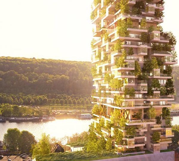 Brenac+Gonzalez designed a kind of urban village in a vertical way. It's like a big skyscraper with lots of green elements. As a village, the high-rise is organized and structured around common areas such as meeting places and places of exchange. It includes characteristics of individual housing, offering to its inhabitants large living areas with more than 3 meters high ceilings and customizable spaces through use of mobile partitions I truly believe that these kind of buildings featured by a lot of green elements are the evolution of the skyscrapers we know so far. Looking forward to see the first ones of that kind to get build and financed by some smart investors and planners.  Further Readings:Evolo Architecture - Designing an Urban VillageBrenac+Gonzalez - Une tour d'habitation