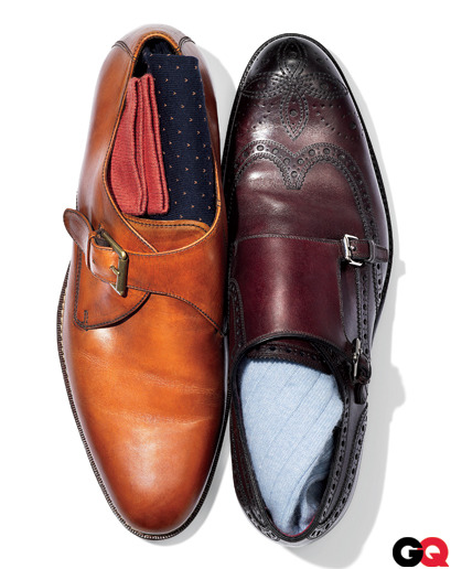 gqfashion:  The GQ Guide to Monkstraps They're the dressiest of all men's shoes. Isn't it time you joined the order of the monkstrap? Thing is, there are ground rules. Here's our heel-to-toe guide to buckling up.