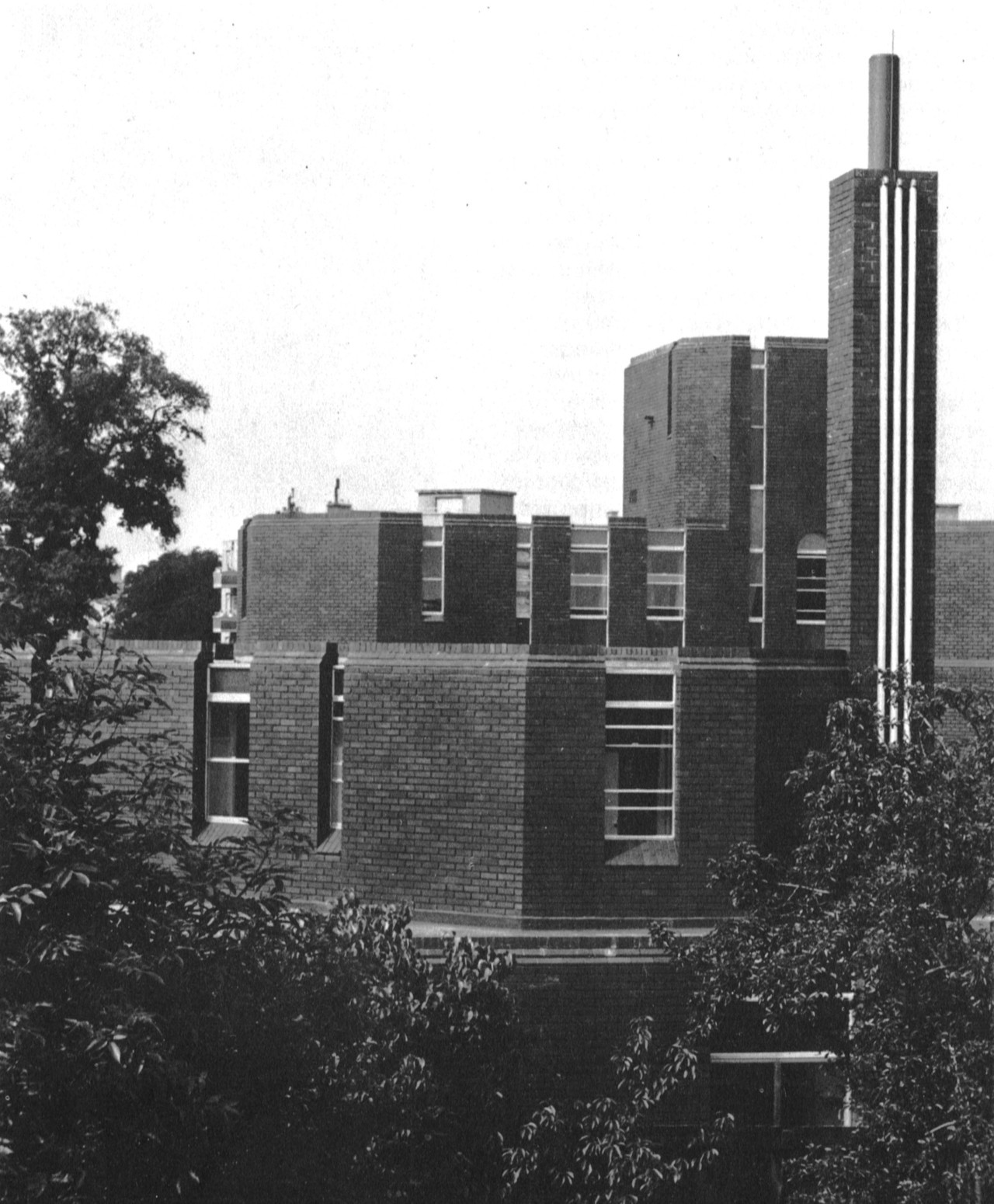 Perrygrove Old People's Home, Blackheath, London, 1960-64 (Stirling and Gowan)
