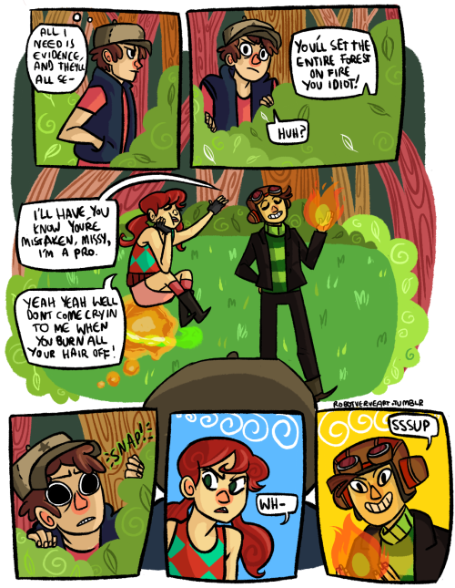 robotverve:  robotverveart:  what if psychonauts/gravity falls  i did a thing