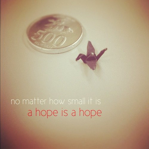 hope  |  #hope (Taken with Instagram)