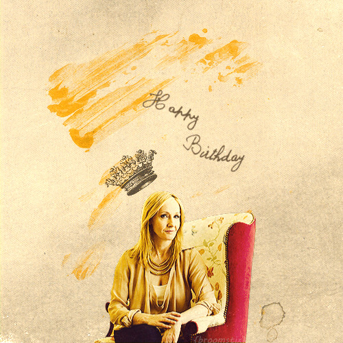 horcruxy:  Happy Birthday J.K. Rowling