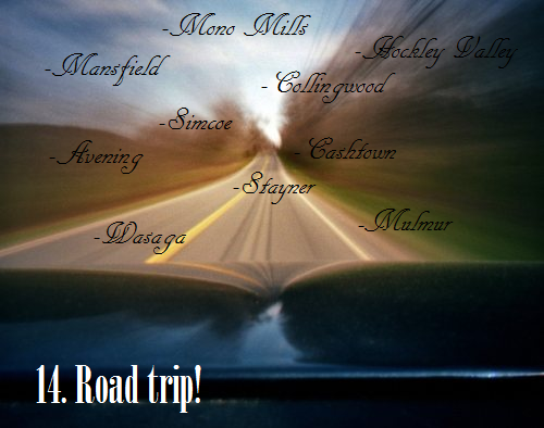Summer Bucket List #14:Road Trip!