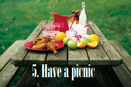 Summer Bucket List #5: Have a picnic