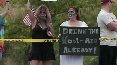 Another great way to disrupt a Westboro Baptist protest: Zombies. Check out the story.
