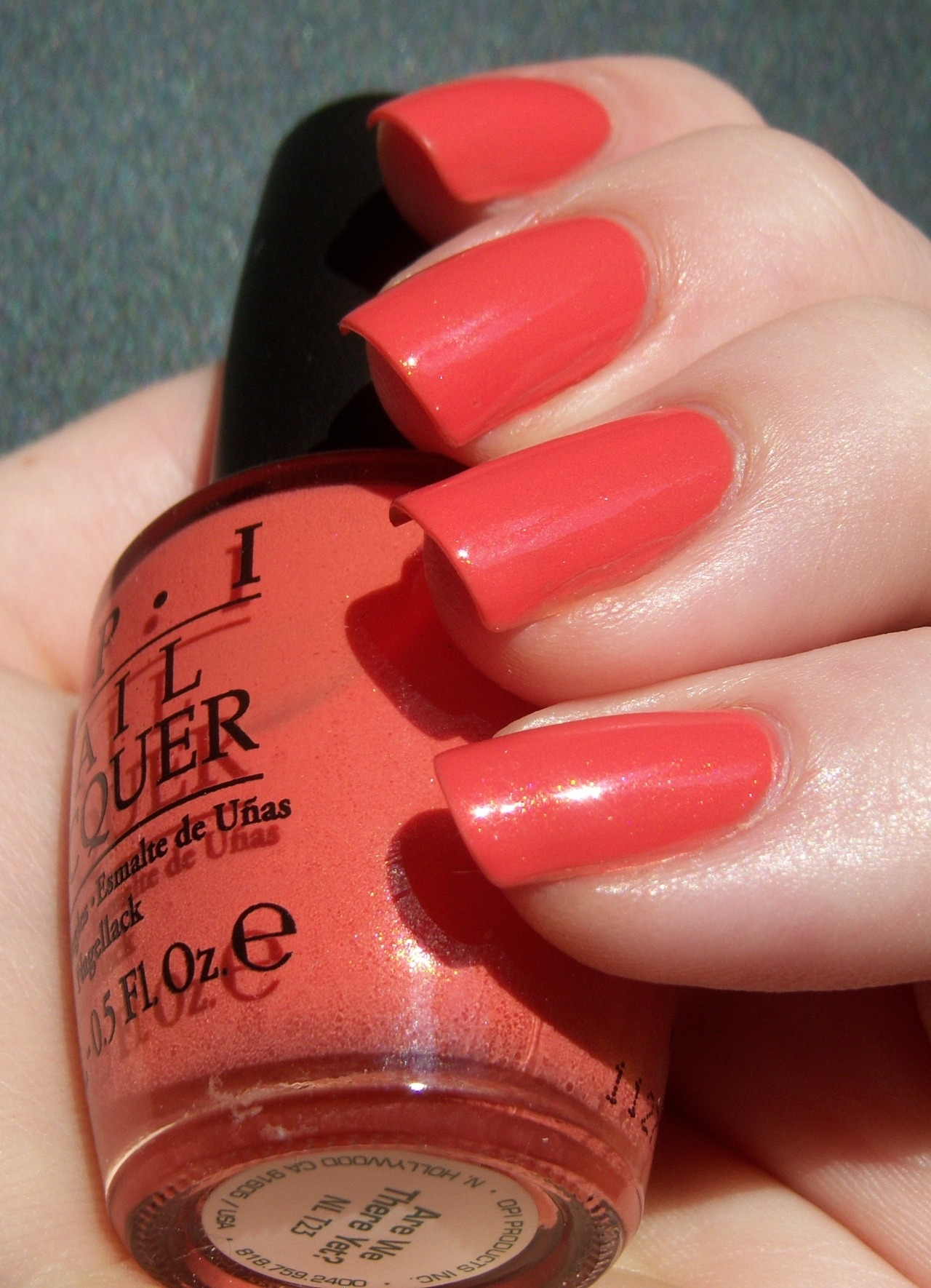 polishedandpowerful:  OPI Are We There Yet? Full post here :)   Love this nail color.