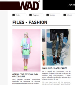 Wad Magazine Interview