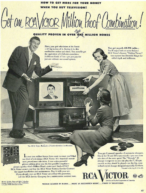 """First, you get television at its finest - 17 big inches of it."""
