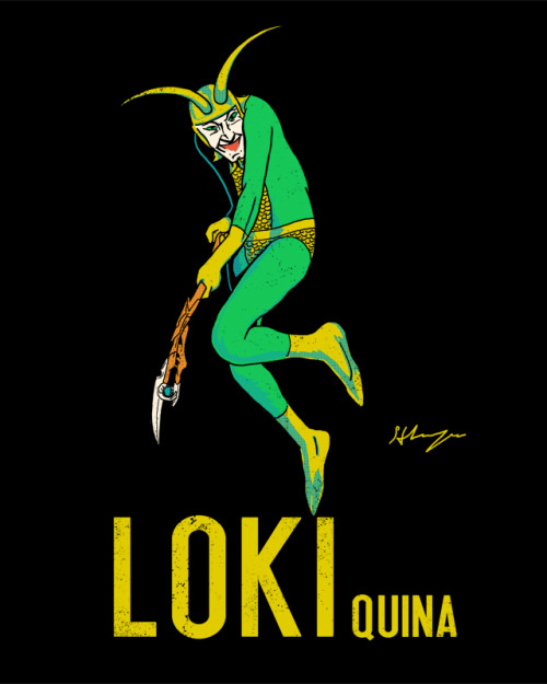 Loki Quina: Buy T-shirt