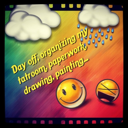#textgram on my #dayoff and raining… But my love is at work, bummer! 😘😪😃 (Taken with Instagram)