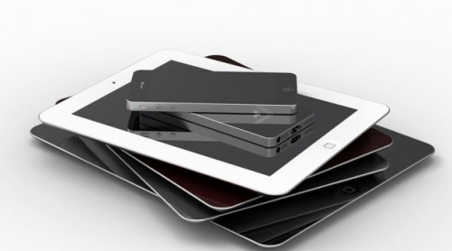 iPhone 5 and iPad Mini Announced on September 12th, 2012 More news have reached us that Apple is planning a special event in September where they will announce the new iPhone 5 and also the much anticipated and rumored iPad Mini. Apparently both will be announced at an event on September 12th, 2012. Furthermore iMore reports that the iPhone 5 will be released right after the announcement on September 21st. Here above are further mock-ups of both gadgets.