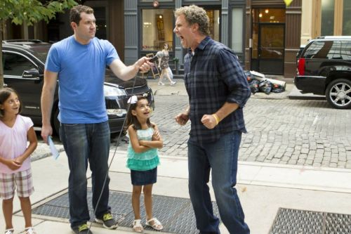 Will Ferrell Shooting 'Billy on the Street' | @billyeichner He really is making dreams come true.