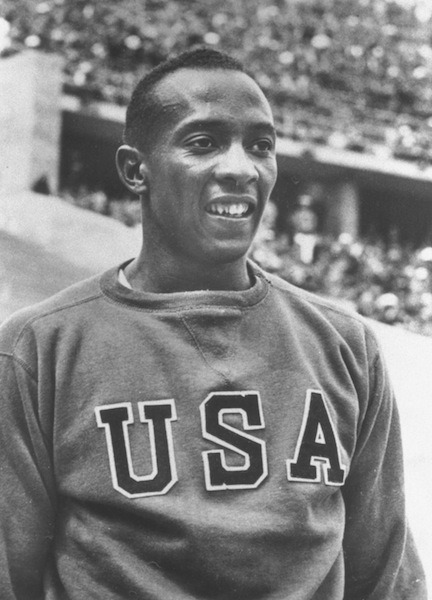 "gqfashion:  Your Morning Shot: Jesse Owens ""If you don't try to win you might as well hold the Olympics in somebody's back yard."""
