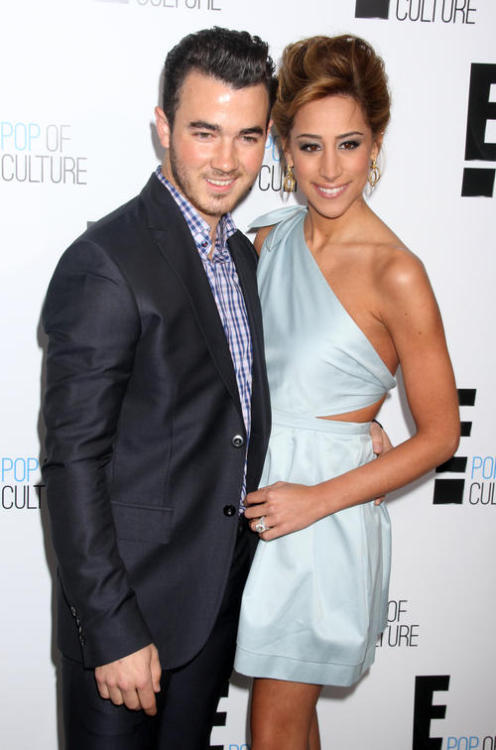"Apparently, there are people in the world who want Kevin and Danielle Jonas to have a baby. Kevin told People Magazine: ""People are like, 'All right guys, what's your plan? When are you going to have those grandkids?' I'm starting to feel that pressure a little bit."" To these pressurers: I can think of about a million better hobbies for you. I am definitely not one of the people clamoring for a Jonas child, and I can't imagine that anyone besides their moms is all that impatient. (There's a section in my book about the celebrities who should have babies, and I can confirm that there are no Jonases mentioned at all.)  Kevin and Danielle have a new reality show starting called Married to Jonas, which sounds about as interesting as my last pity-breakfast with Demi Lovato. Is it a spinoff of Real Housewives of New Jersey?"